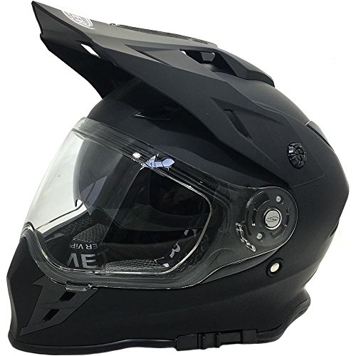 Caschi moto VIPER RX v288 Motocross Caschi MX Enduro Quad Sports casco New Stile interno con visiera nero opaco