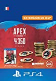 APEX Legends: 4350 Coins - PS4 Download Code - Compte français DLC