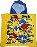 Pokemon Pikachu Kinder große Hood Poncho von besttrend