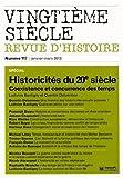 Vingtième siècle, N° 117, Janvier-mars - Historicités du 20e siècle : Coexistence et concurrence des temps