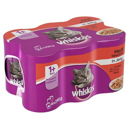 whiskas-1-years-cat-food-cans-meat-selection-in-jelly-6-x-390g