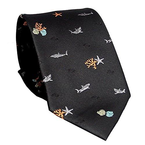 ZSRHH-Neckchiefs Halstücher Herren Krawatte Marine Elements Jacquard Business Geschenk Boxed Tie -