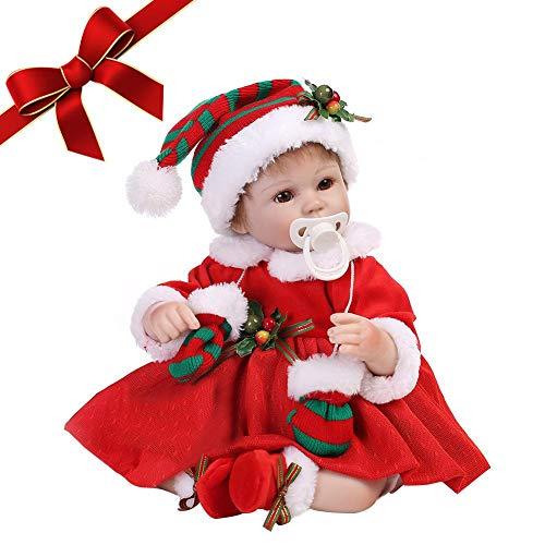 Per Muñecas Reborn Reales Bebés Infantiles Juguetes de Muñecas Realistas para Navidad Regalo Cumpleaños para Niñas