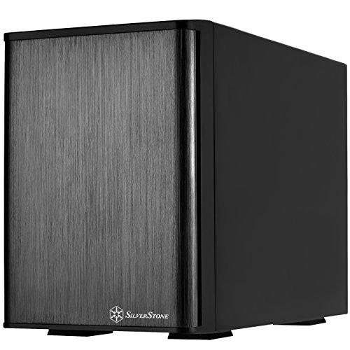 """SilverStone SST-TS431S-V2 - Mini SAS Externes Festplatten-Gehäuse für 4 x 3,5"""" SAS/SATA-HDDs oder SSDs mit integriertem Netzteil und 2 x 60 mm-Lüftern, schwarz"""