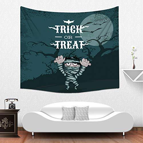 LoveTapestry DIY-Tapisserie Für Halloween Persönliche Tapisserie Wanddekoration Hintergrund Sofa Decke Wandteppich Wanddekoration,150X200Cm,C (Halloween Tumblr Hintergrund)