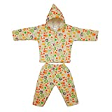 #10: Littly Winter Baby Suit With Hood (Peach)