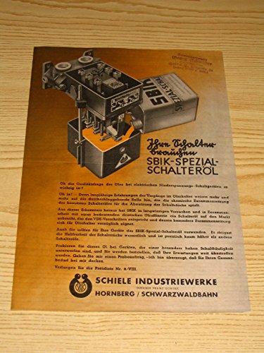 SBIK - Spezial - Schalteröl