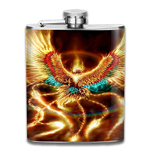 Phoenix Gifts Top Shelf Flasks Stainless Steel Flask