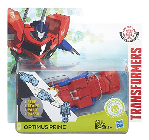 Hasbro Transformers B6805ES0 - Robots in disguise One Step Optimus Prime, Actionfigur