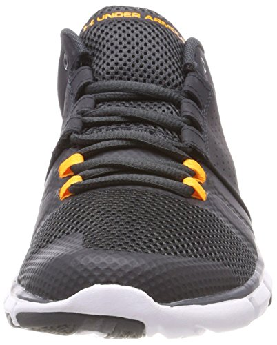 Under Armour Herren UA Strive 7 Hallenschuhe Schwarz (Anthracite)