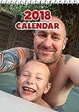 PERSONALIZADO A4 Calendario - 13 páginas - con sus propias fotos + su propio texto en CUBIERTA