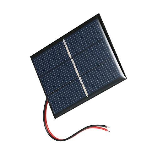 Decdeal 0.65W 1.5V Solarpanel Solarzellen aus Polykristallin