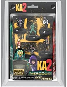 Kick-ass 2 Heroclix Fast Forces Mini-figure 6-pack by NECA TOY (English Manual)