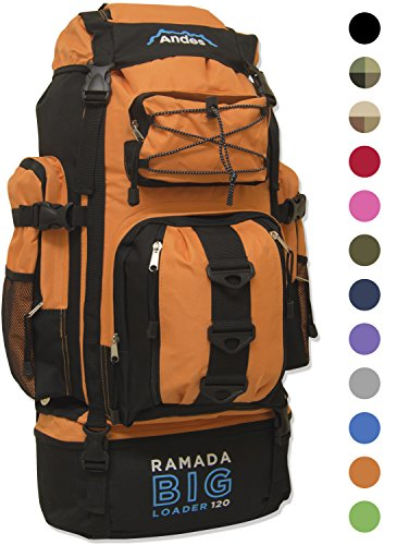 andes-bright-orange-ramada-120l-extra-large-hiking-camping-backpack-rucksack-luggage-bag