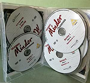 Minder - Complete Series 1 - 10 [37 Discs]