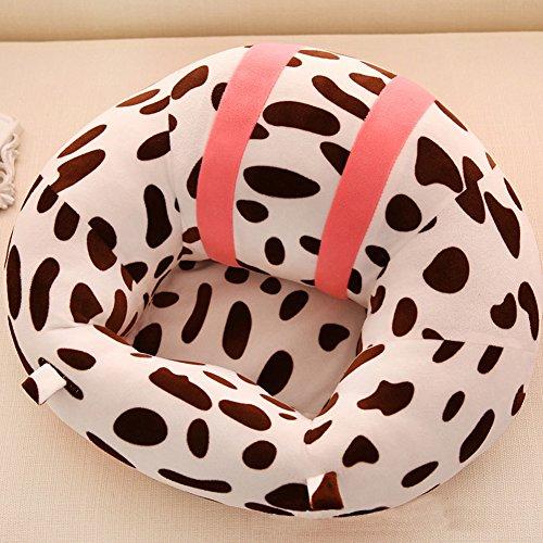 Bébé Soutien doux Chaise Assise, la mode Coton de sécurité de voyage de voiture Chaise Coussin d'allaitement protecteurs en forme de U Cuddle Siège bébé Infant Safe Coussin de chaise de salle à manger, jouet en peluche (7 couleurs)