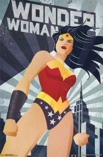 Wonder Woman - Constructivism Poster (60,96 x 91,44 cm) - Wonder Woman-poster
