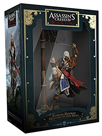 Assassin's Creed Buccaneer Figurine: Edward Kenway: Master of the Seas (Electronic Games/PS4/Xbox One/PS3/Xbox 360)