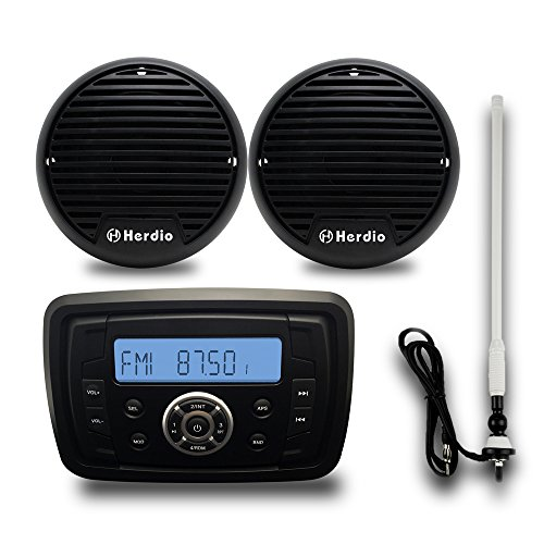 marine stereo paket bluetooth radio fm am radio empf. Black Bedroom Furniture Sets. Home Design Ideas
