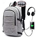 Anti-Theft Sport Bag Laptop Backpack for Mens and Women, Fits15.6 inch Laptop Case