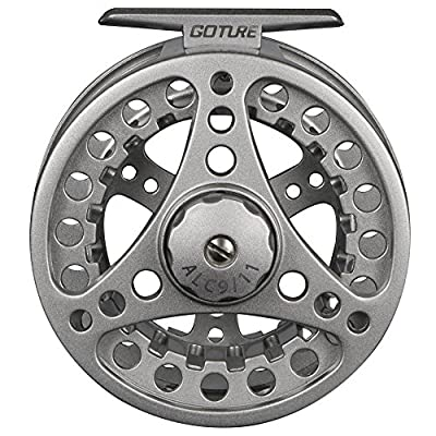 Goture Aluminum Frame Spool Fly Fishing Reel 5/6 7/8 9/11 Weight 2+1BB Ball Belling by Goture