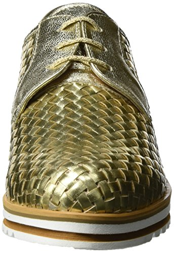 Vitti Love 534-206, Zapatos De Mujer Con Cordones De Oro (platino)