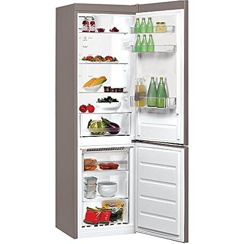 Whirlpool BSNF 8102 OX Autonome 222L 97L A++ Acier inoxydable - réfrigérateurs-congélateurs (Autonome, Bas-placé, A++, Electrique, Acier inoxydable,