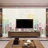 Murale del sofà della camera da letto del salone di studio della pittura del paesaggio architettonico del fondo della carta da parati del fo Carta Da Parati moderna 3D Fotomurali spiaggia-250cm×170cm