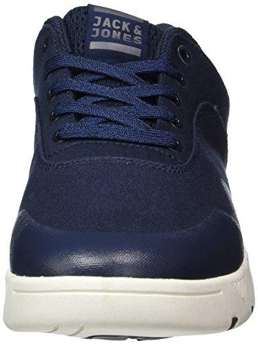 Jack & Jones Jfwhoughton Textile Navy Blazer, Sneakers Basses Homme Bleu (Navy Blazer)
