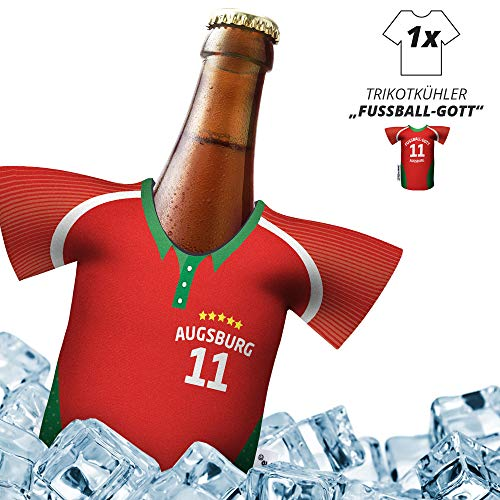 Herren Trikot 2019/20 kühler Home für. FCA-Fans   FUßBALL-Gott   1x Trikot   Fußball Fanartikel Jersey Bierkühler by ligakakao.de