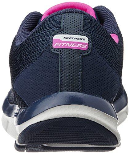 SkechersLiv Go Spacey - Scarpe Sportive Outdoor donna Blu (Bleu (Nvhp))
