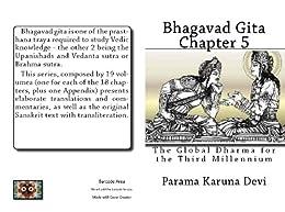 Bhagavad gita: Chapter 5 (English Edition) di [Devi, Parama Karuna]