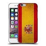 Head Case Designs Espagne Espagnol Drapeaux Vintage Étui Coque en Gel Molle pour iPhone 6 / iPhone 6s