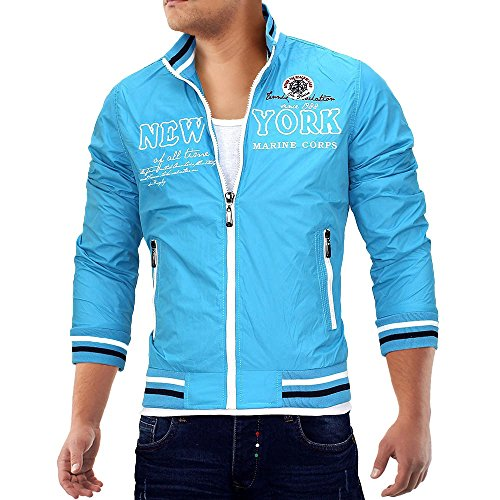 cazadora-chaqueta-para-hombre-new-york-id685-diversos-colores-tamaos-m-colores-039-turquesa