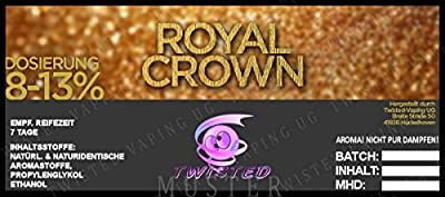 Twisted Aroma Royal Crown von Twisted Vaping