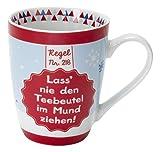 Sheepworld 49508 Tasse Regel Nummer 218 - Lass' Nie Den Teebeutel im Mund zeihen!