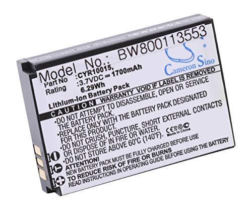 Vhbw Li-Ion batería 1700mAh 3.7V teléfono móvil