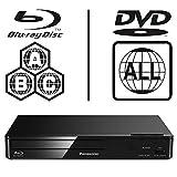 Panasonic DMP-BD84EB Smart ICOS Multi Region All Zone Code Free Blu-ray Player. Blu-ray