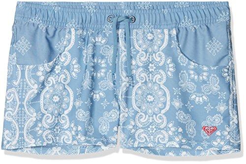 Roxy Girls NA Su BS G BDSH BKQ6Boardshort, Girls, ERGBS03048, Blue Shadow - Pattern_1