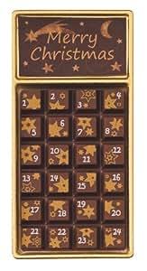 """Weibler Geschenkpackung """"Adventskalender"""" Vollmilch, 24er Pack (24 x 30 g)"""