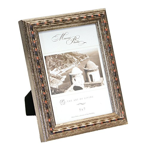 maxxi-designs-photo-frame-with-easel-back-5-x-7-antique-silver-leaf-solid-wood-san-marco