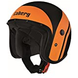 Caberg Freeride Mistral Jethelm XL (61/62) Schwarz Matt/Orange