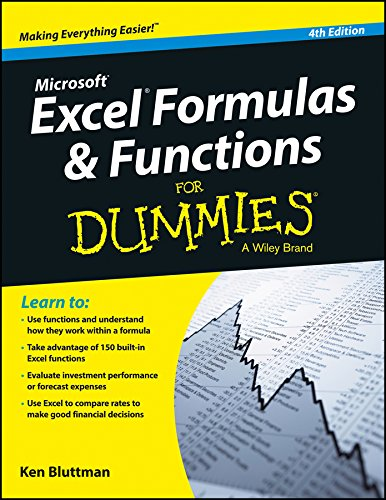 Microsoft Excel Formulas & Functions For Dummies, 4ed
