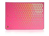 Libro Tablet PC Funda Funda Funda portatil Case Pink de amarillo para Apple iPad Air