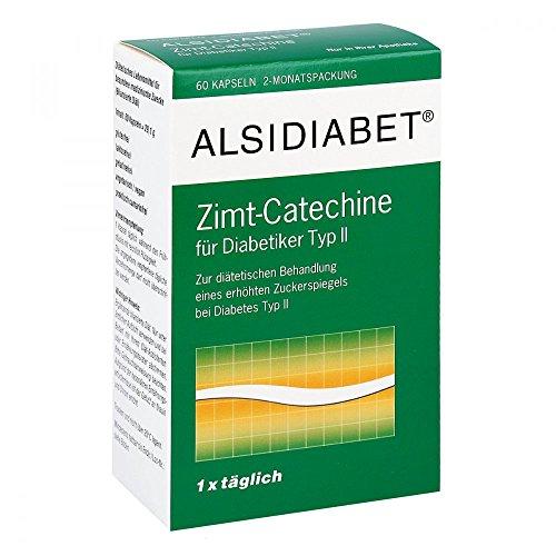 Alsidiabet Zimt Catechine für Diab.Typ Ii Kapseln 60 stk