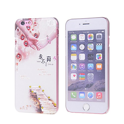 iPhone 6S H¨¹lle,COOLKE [009] Fashion Shiny 3D Diamond Bling Armor Hard Case Cover f¨¹r Apple iPhone 6 6S (4.7 inches) 006