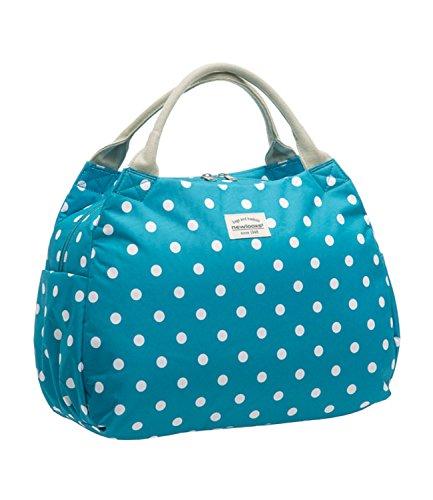 Unbekannt Unisex Tosca Polka Gepäckträgertasche / Handtasche blau