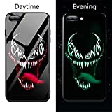 Luxuy Marvel Spider Man Captain America Venom Verre Trempé Coque pour iPhone XR XS Max 6 6S 7 8 Plus Avengers Case iPhone 6 6S 2