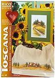 Toscana: 28 Stickideen zum Kreuzstich zählen - Michael Lindner