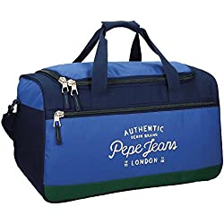 Pepe Jeans Kepel Bolsa de Viaje, 52 cm, 43.73 Litros, Multicolor